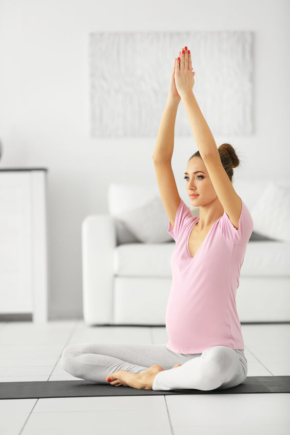 Yoga femme enceinte Plaisir